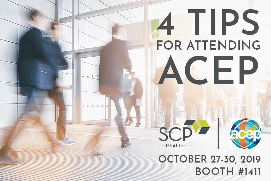 Four Tips for Attending ACEP